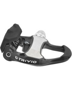 Trivio Race carbon SPD SL pedaalset incl. schoenplaten-Zwart