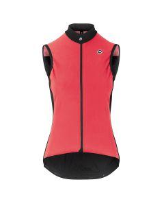 Assos Uma GT Spring/Fall Airblock dames wielervest mouwloos-Galaxy pink-XL