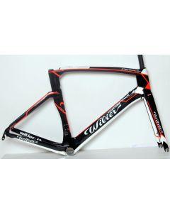 Wilier 101Air frameset-Wit-Fluorrood-XS