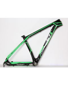 Wilier 101XN frameset-Zwart-Groen-M