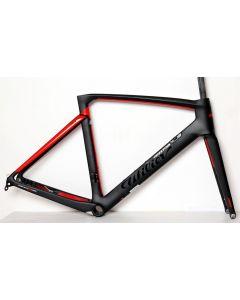 Wilier 110Pro disc frameset-Zwart-Rood-XS