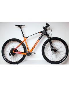 Wilier 110X GX disc-X10 Black-Orange matt & glossy-XL