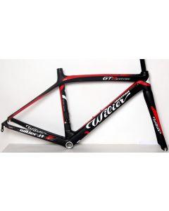 Wilier GTR frameset-Zwart-Rood-XXS