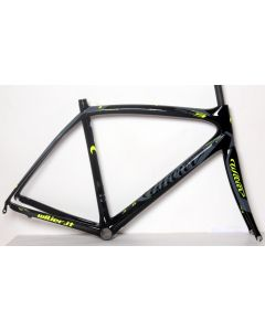 Wilier Zero 9 frameset-Zwart-Fluorgeel-2XL