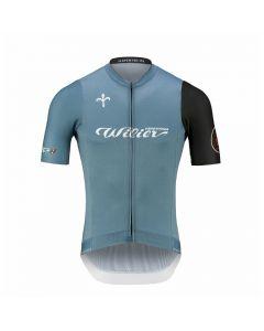 Wilier Cycling Club wielershirt korte mouw-Avio blauw-2XL