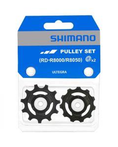Shimano R8000/8050 11sp derailleurwieltjes-Zwart