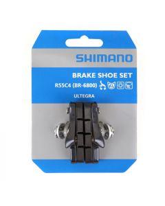 Shimano R55C4 BR-6800 remblokken + schoen (1 paar)