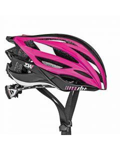Zero RH+ ZW fietshelm-Zwart-Roze-Wit-XS/M