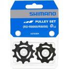 Shimano R8000/8050 RX800/RX805/RX812 11sp derailleurwieltjes-Zwart