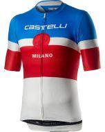Castelli Milano wielershirt korte mouw