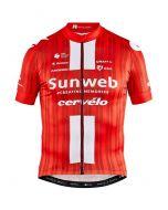 Craft Team Sunweb Replica wielershirt korte mouw