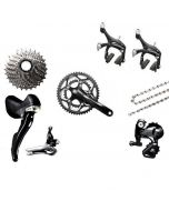 Afmontage Shimano 105 5800 compact mix